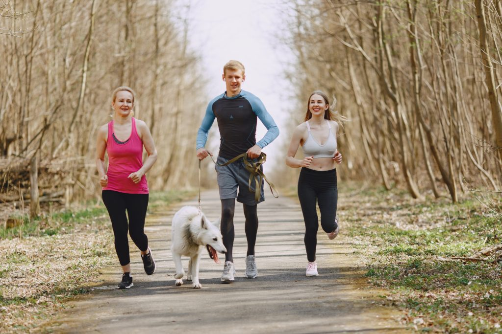 Exercise helps reduce workplace stress