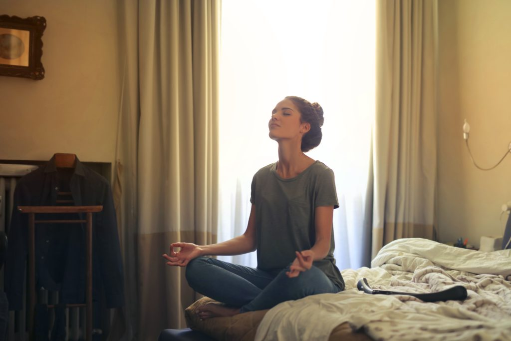 The benefits of meditation include a reduction of stress