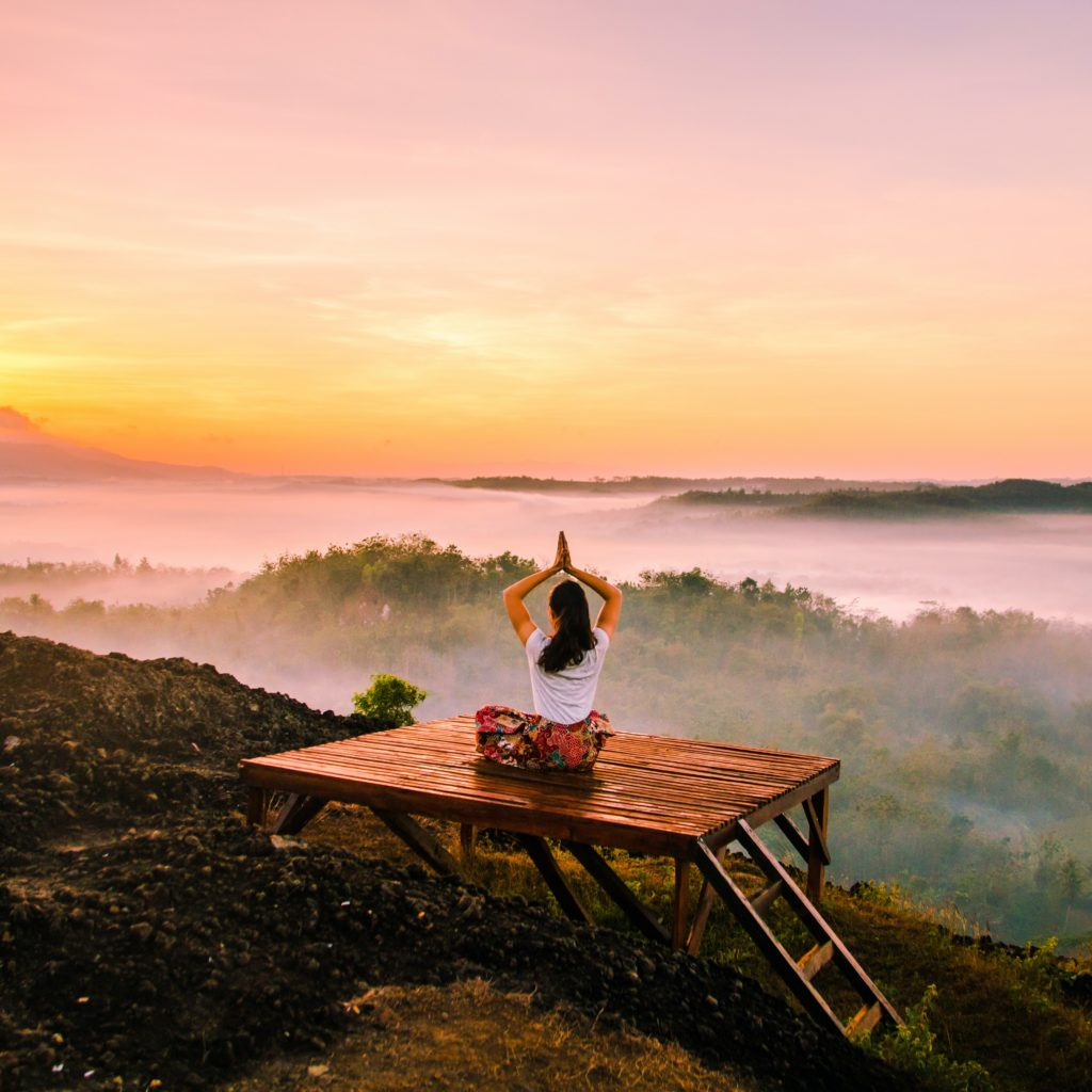 Mindfulness is a great way to stay calm and reduce stress.