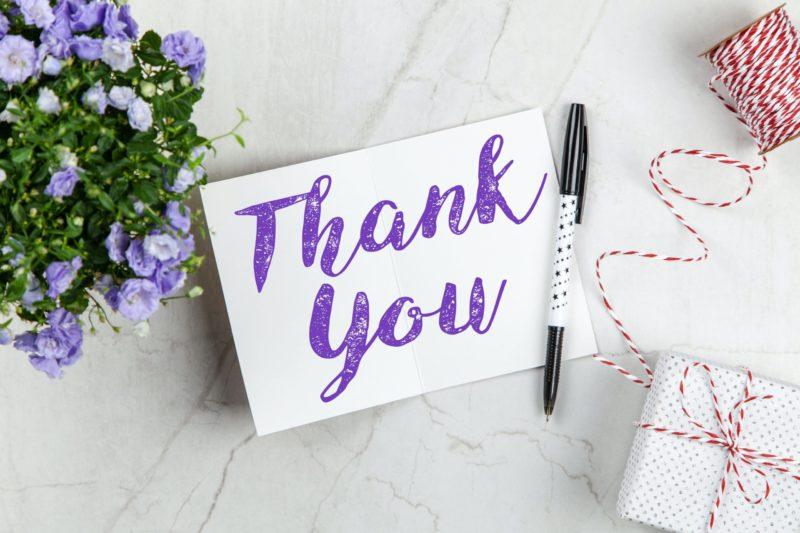 Gratitude Message - Thank you