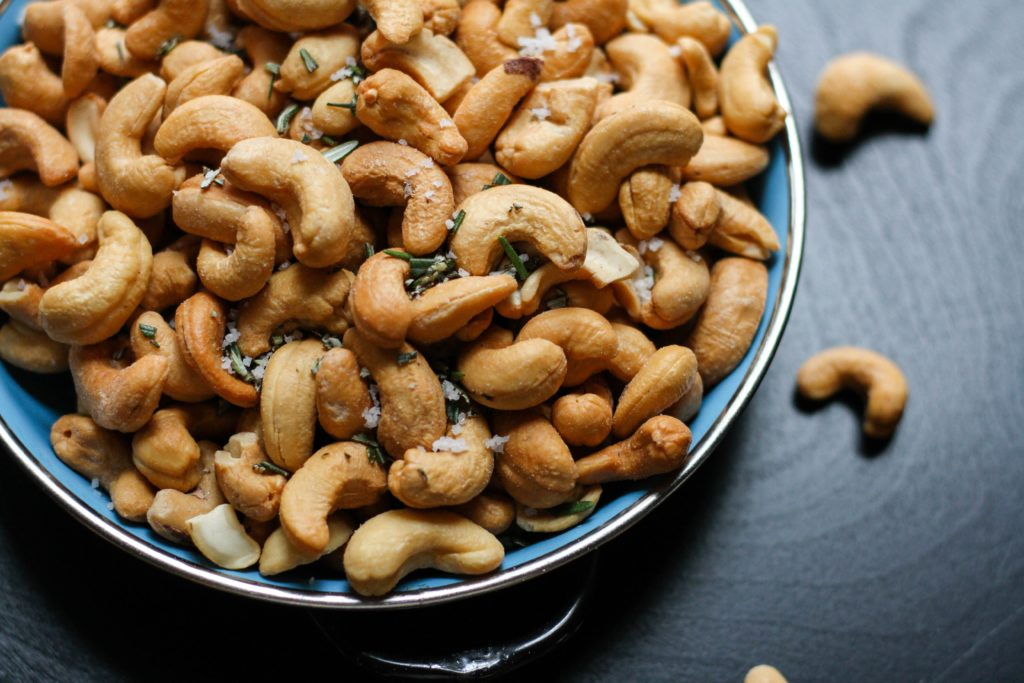 Cashews help improve focus and you should consider it as a snacking option!