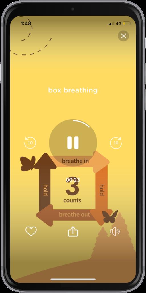 Try an exercise like the Buteyko Breathing Technique on Evolve.