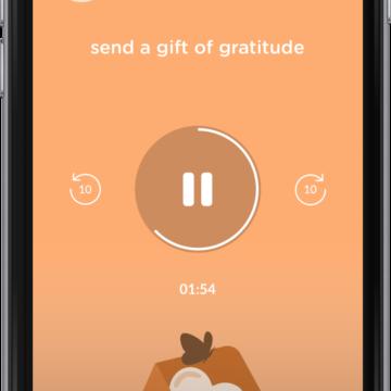 How to practice gratitude using Evolve