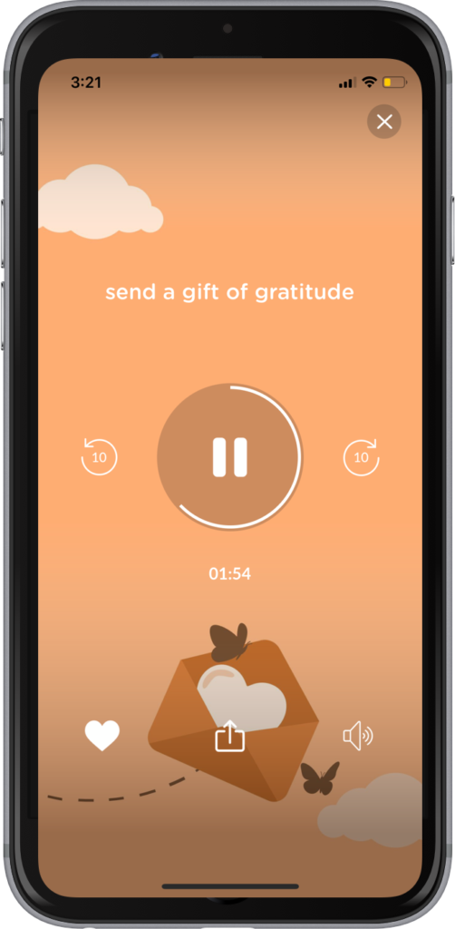 Reduce stress and practice gratitude with Evolve!